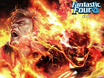 Image: Fantastic Four #14 (variant Immortal wraparound cover - Inhyuk Lee) - Marvel Comics