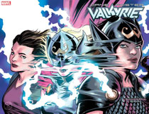 Image: Valkyrie: Jane Foster #3 (variant Immortal cover - David Lopez) - Marvel Comics