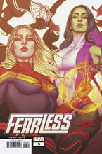 Image: Fearless #3 (variant Connecting cover - Frison) - Marvel Comics