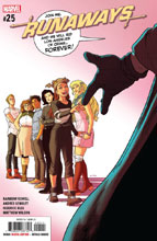 Image: Runaways #25 - Marvel Comics