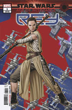 Image: Star Wars: Age of Resistance - Rey #1 (variant Puzzle-Piece cover - McKone) - Marvel Comics