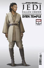Image: Star Wars: Jedi Fallen Order - Dark Temple #2 (1:10 incentive Game cover) - Marvel Comics