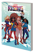 Image: Marvel Rising: Heroes of the Round Table SC  - Marvel Comics