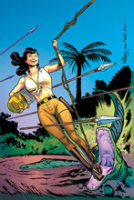 Image: Bettie Page: Unbound Vol. 03 #6 (incentive 1:20 cover - Williams virgin) - Dynamite