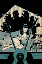 Image: Bettie Page: Unbound Vol. 03 #6 (incentive 1:30 cover - Chantler virgin) - Dynamite