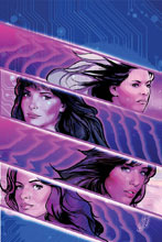 Image: Charlie's Angels vs. the Bionic Woman #3 (incentive cover - Staggs virgin) (20-copy) - Dynamite