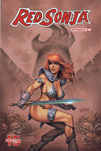 Image: Red Sonja Vol. 05 #8 (cover B - Linsner) - Dynamite