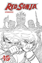 Image: Red Sonja Vol. 05 #8 (incentive cover - Conner B&W) (20-copy) - Dynamite