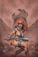 Image: Red Sonja #8 (variant cover - Linsner virgin) - Dynamite