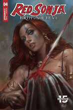 Image: Red Sonja: Birth of the She-Devil #4 (cover A - Parrillo) - Dynamite