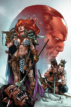 Image: Red Sonja: Birth of the She-Devil #4 (incentive cover - Davila virgin) (10-copy) - Dynamite