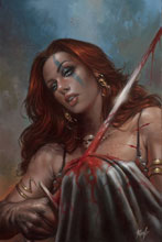 Image: Red Sonja: Birth of the She-Devil #4 (variant cover - Parillo virgin) - Dynamite