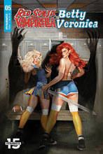 Image: Red Sonja and Vampirella Meet Betty and Veronica #5 (cover A - Dalton) - Dynamite