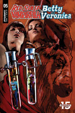 Image: Red Sonja & Vampirella Meet Betty & Veronica #5 (cover E - Staggs) - Dynamite