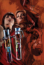 Image: Red Sonja & Vampirella Meet Betty & Veronica #5 (variant cover - Staggs virgin) - Dynamite