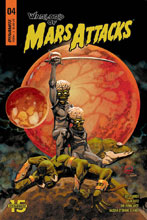 Image: Warlord of Mars Attacks #4 (cover A - Johnson) - Dynamite