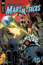 Image: Warlord of Mars Attacks #4 (cover B - Laming) - Dynamite