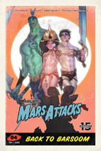 Image: Warlord of Mars Attacks #4 (cover D - Caldwell) - Dynamite