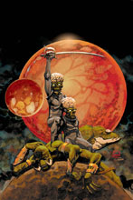 Image: Warlord of Mars Attacks #4 (incentive cover - Johnson virgin) (30-copy) - Dynamite