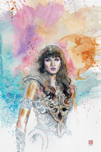 Image: Xena: Warrior Princess Vol. 03 #6 (incentive cover - Mack virgin) (10-copy) - Dynamite