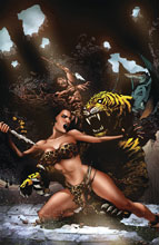 Image: Pellucidar: Wings of Death #2 (cover C virgin - Mike Wolfer) - American Mythology Productions