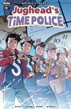 Image: Jughead's Time Police #4 (cover B - Isaacs) - Archie Comic Publications