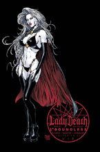 Image: Lady Death #7 (Ongoing) (variant cover - San Diego ViP - Boundless Comics