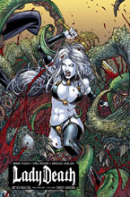 Image: Lady Death Debut Ashcan  (variant cover - Philadelphia) - Boundless Comics