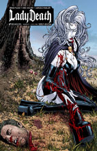 Image: Lady Death Debut Ashcan  (variant cover - ViP) - Boundless Comics