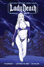 Image: Lady Death #17 (Ongoing) (variant cover - SDCC Thurs) - Boundless Comics