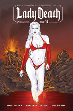 Image: Lady Death #17 (Ongoing) (variant cover - SDCC Sat) - Boundless Comics