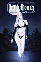 Image: Lady Death #17 (Ongoing) (variant cover - SDCC ViP) - Boundless Comics