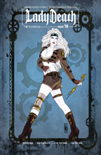 Image: Lady Death #18 (Ongoing) (variant cover - Chicago Steampunk Saturday) - Boundless Comics
