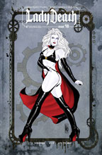 Image: Lady Death #18 (Ongoing) (variant cover - Chicago Steampunk ViP) - Boundless Comics