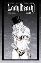 Image: Lady Death #20 (Ongoing) (variant cover - NY New Year) - Boundless Comics