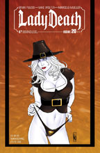 Image: Lady Death #20 (Ongoing) (variant cover - NY Thanksgiving) - Boundless Comics