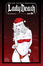 Image: Lady Death #20 (Ongoing) (variant cover - NY Christmas) - Boundless Comics