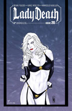 Image: Lady Death #20 (Ongoing) (variant cover - NY ViP) - Boundless Comics