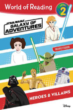 Image: World of Reading Star Wars Galaxy of Adventures: Heroes & Villains  - Disney Lucasfilm Press