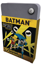 Image: DC Comics Pop Quiz Trivia Deck: Batman  - Insight Editions
