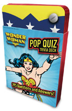 Image: DC Comics Pop Quiz Trivia Deck: Wonder Woman  - Insight Editions