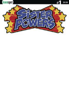 Image: Sister Powers #1 (cover B - blank sketch) - Keenspot Entertainment