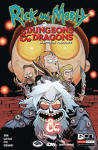 Image: Rick and Morty vs. Dungeons & Dragons II: Painscape #1 (cover A - Little) - Oni Press Inc.