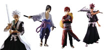 Image: Bleach & Naruto Shippuden Deluxe Action Figure Assortment  (6-inch) - Toynami Inc