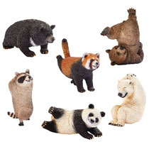 3ac2b502 Image: Animal Life Shaking 8-Piece Trading Figure Blind Mystery Box Display  - Union