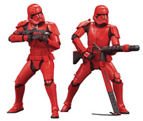 Image: Star Wars ARTFX+: Sith Trooper  (2 Pack) - Kotobukiya