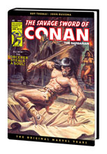 Image: Savage Sword of Conan: The Original Marvel Years Omnibus Vol. 04 HC  (variant cover - Norem) - Marvel Comics