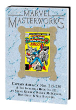 Image: Marvel Masterworks: Captain America Vol. 12 HC  (variant DM cover - Gil Kane) - Marvel Comics