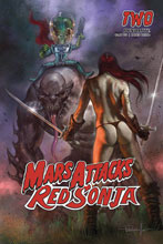Image: Mars Attacks / Red Sonja #2 (cover A - Parrillo) - Dynamite