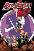 Image: Red Sonja Vol. 05 #19 (incentive 1:07 cover - Peeples Homage) - Dynamite